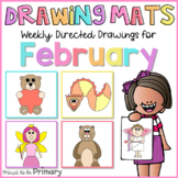 Directed Drawings for February | Cupid, bear, dragon, grou
