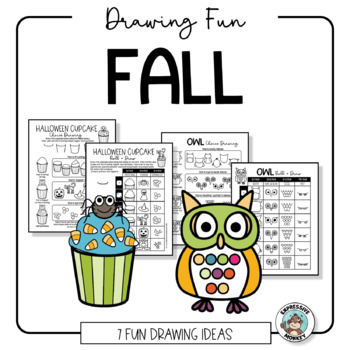 Art Activities: How to Draw: Fall Drawing Fun