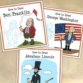 How to Draw Famous Americans Bundle