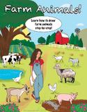 How to Draw Farm Animals!