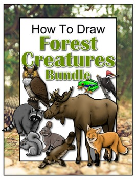 How to Draw Forest Creatures Bundle