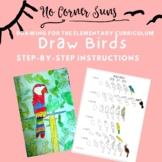 How to Draw Birds - Step-by-Step Elementary Art-Henri Rous