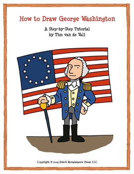 George Washington Drawing Tutorial: How to Draw the First U.S. President