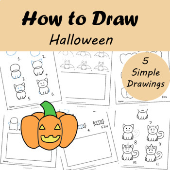 How to Draw: Halloween   Distance Learning