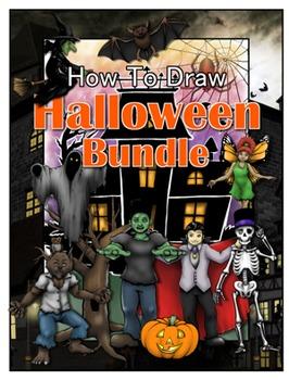 How to Draw Halloween Bundle