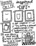 How to Draw Heather Galler Inspired Hot Cocoa Cups!