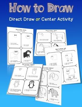 How-to-Draw It -Animal Alphabet Bundle