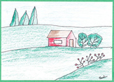 How to Draw Landscapes - Elementary Art Project – Step-By-Step