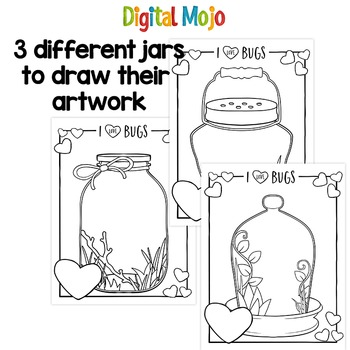 How to Draw Love Bugs - Valentines Drawing Activity