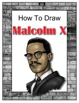 How to Draw Malcolm X