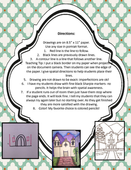 How to Draw Mission Santa Ines