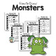 Monster Drawing Art Activity