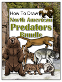 How to Draw North American Predators Bundle