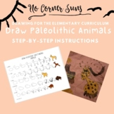How to Draw Paleolithic Cave Painting Animals - Step-by-St