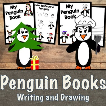 How to Draw Penguins and Penguin Booklets