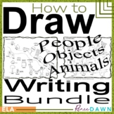 How to Draw People, Objects & Animals - Directed Drawing BUNDLE