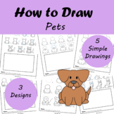 How to Draw: Pets | Distance Learning