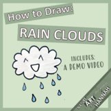 How to Draw Rain Clouds: Demo video and Fun Field Study Page!