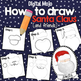 How to Draw Santa Claus and Friends