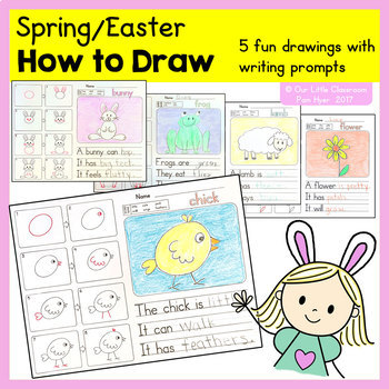 How to Draw:  Spring / Easter