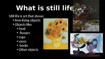 How to Draw Still Life Powerpoint, Paul Cezanne