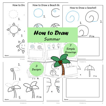How to Draw: Summer | Distance Learning