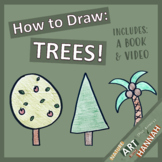How to Draw Trees: Demo video and Tree Book Activity!