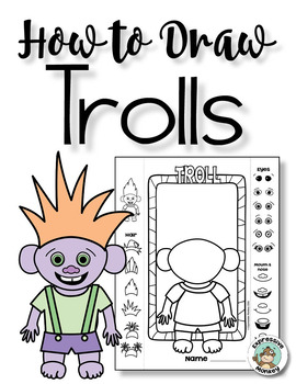 Troll Directed Drawing with Choices