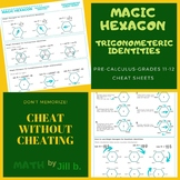How to Draw & Use the Magic Hexagon of Trigonometric Ident