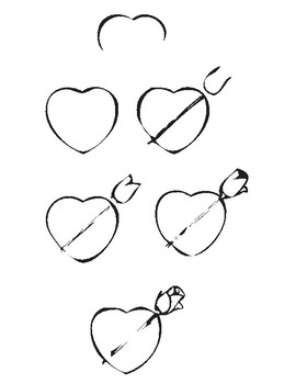 How-to-Draw: Valentines Day Art