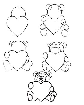 How To Draw Valentines Day Art By Visual Voice Tpt