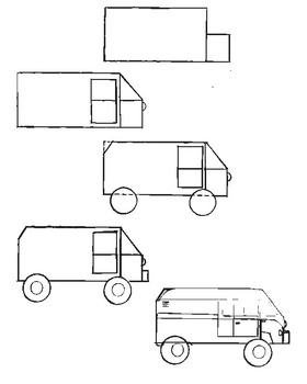 How-to-Draw: Vehicles of land and sky (Expanded bundle!)