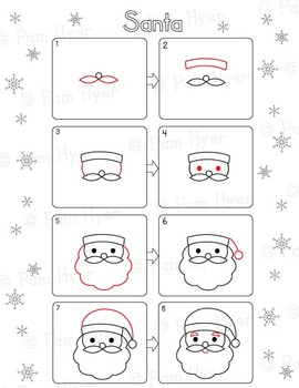 How to Draw:  Winter / Christmas