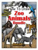How to Draw Zoo Animals Bundle