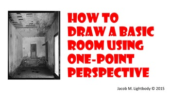 How to Draw a 3D Room (1-Point Perspective)