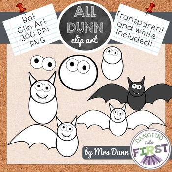 How to Draw a BAT Halloween Clip Art- Directed Drawing