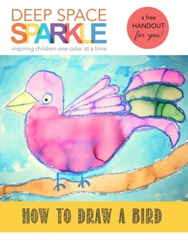 How to Draw a Bird Handout