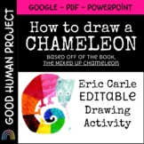 How to Draw a Chameleon | Mixed Up Chameleon | Eric Carle Inspired Activity