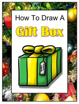 How To Draw A Christmas Gift Box By Drawing With John Tpt
