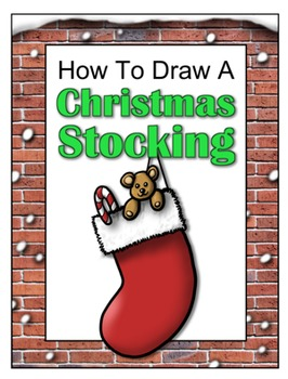 How to Draw a Christmas Stocking