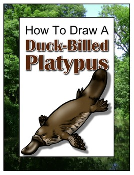 How to Draw a Duck-Billed Platypus