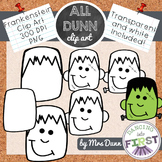 How to Draw a FRANKENSTEIN Halloween Clip Art- Directed Drawing