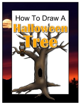 How to Draw a Halloween Tree