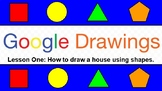How to Draw a House in Google Drawings