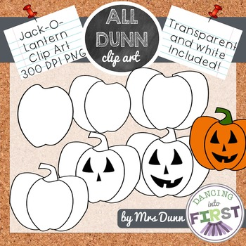 How to Draw a JACK-O-LANTERN Halloween Clip Art- Directed Drawing