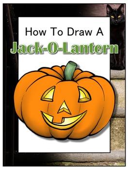 How to Draw a Jack-O-Lantern