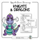 How to Draw a Knight & Dragon: Upside-Down Drawing, Roll & Draw + Choice Drawing