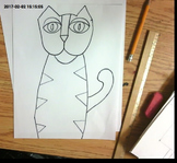 How to Draw a Laurel Burch Inspired Cat