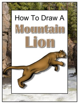 How to Draw a Mountain Lion