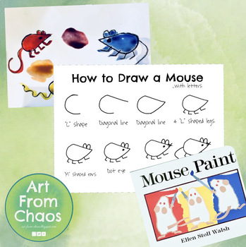 How to Draw a Mouse...with letters